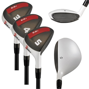 Palm Springs Golf E2i Rescue Hybrid Iron Set 3-4-5
