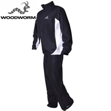 Woodworm Waterproof Mens Golf Rainsuit Black