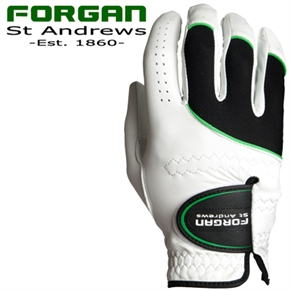 Forgan MENS RH AW Golf Gloves x2 WHITE