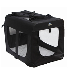 Confidence Pet Portable Folding Soft Dog Crate - S