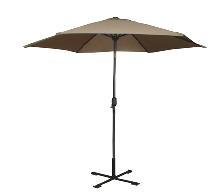 Palm Springs 8ft Aluminium Patio Umbrella w/ Tilt