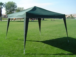 10 x 10 EZ POP UP Canopy NO SIDEWALLS
