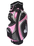 Palm Springs 14 Way Golf Cart Bag in Pink