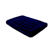North Gear Super Flocked Fleece Full Air Bed x2
