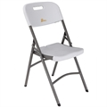 Palm Springs Folding Plastic/Steel Chairs – 4 PACK