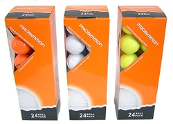 24 PROSiMMON TOUR DISTANCE Golf Balls 3 Colors