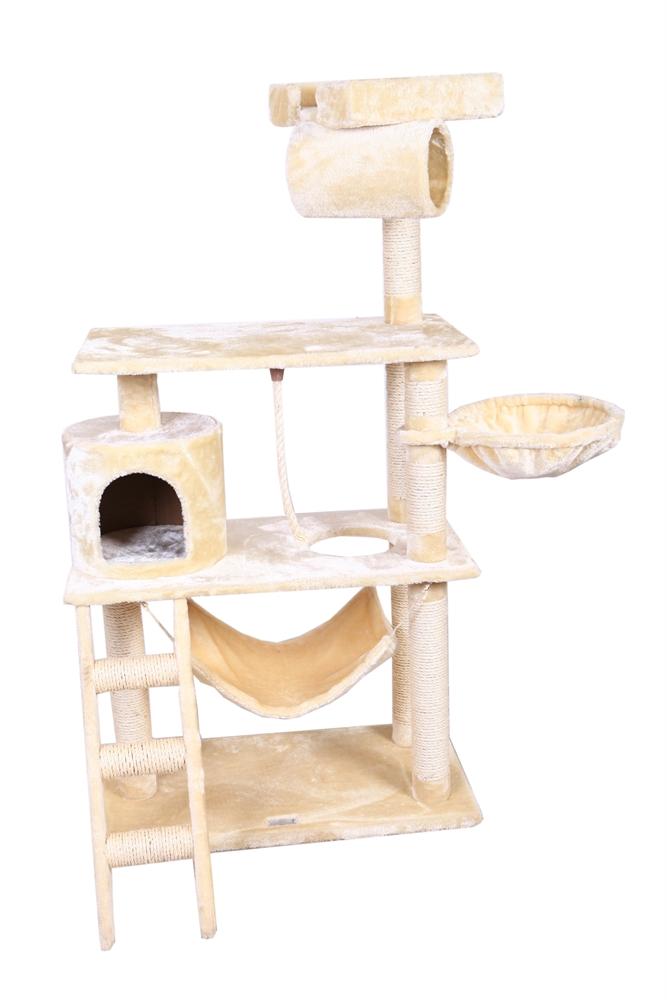 Confidence-Pet-56-Premier-Cat-Tree-Scratching-Post-Scratcher-Kitten-Condo-Bed