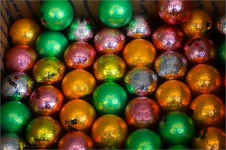 Vegas Golf Metallic Golf Balls