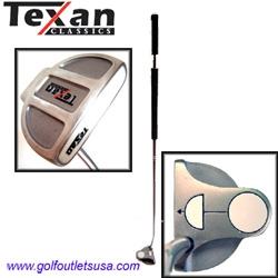 Texan Classics White Ball BELLY Putter