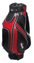 Voit Golf Staff Bag Red & Black