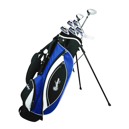 Confidence Golf Lefty Power Club Set and Stand Bag