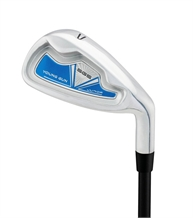 Young Gun SGS Junior Single Irons BLUE Ages 6-8