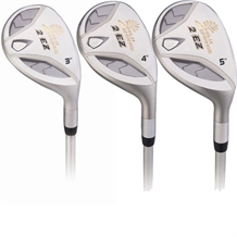 Palm Springs 2EZ Lady 18-21-24 Hybrid Club Set