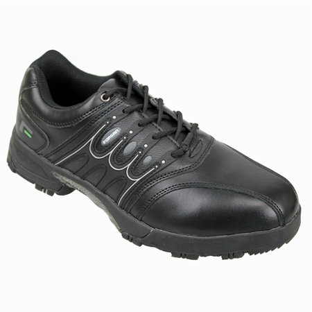 Forgan IWD Waterproof Mens Golf Shoes ALL BLACK
