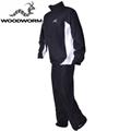 Woodworm Waterproof Mens Golf Rainsuit Black