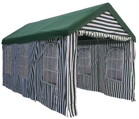 10' x 20' Polyester Heavy Duty Striped Gazebo 004
