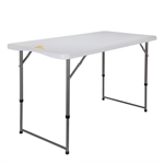Palm Springs 4ft Adjustable Height Plastic Table