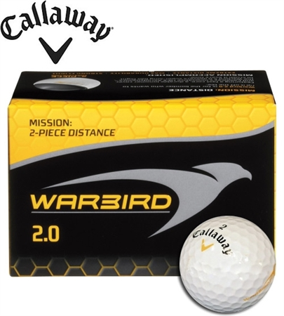 12 Callway Warbird Golf Balls Personalized Text