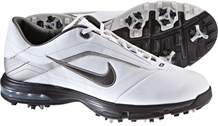 Nike Mens Air Academy White/Gunmetal Golf Shoes