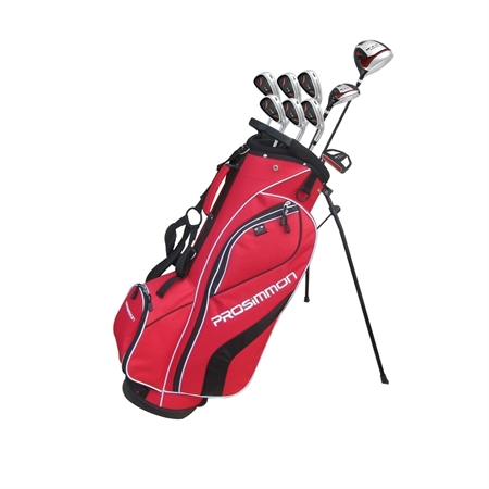 Prosimmon V7 Golf Package Set- Red