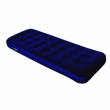 North Gear Super Flocked Fleece Twin Air Bed