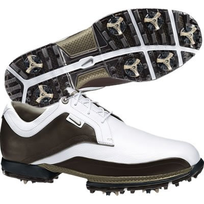 Nike Mens Tour Premium White/Cinder Golf Shoes