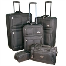 Confidence 5 Piece Expandable Suitcase Set