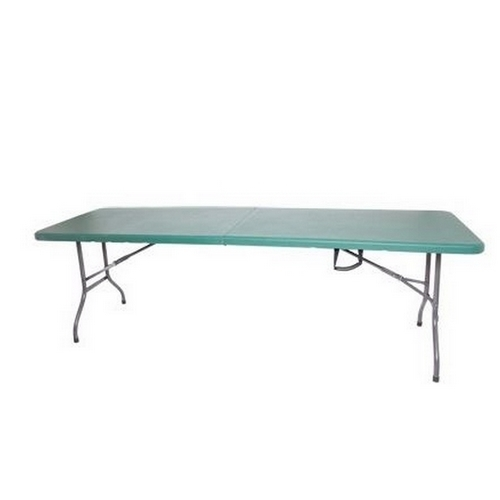 palm springs 6 foot portable plastic banquet table folds in half ebay. Black Bedroom Furniture Sets. Home Design Ideas