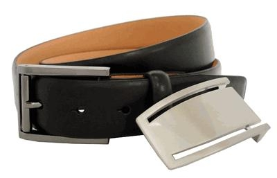 Nike 2-in-1 Mens Golf Belt Black
