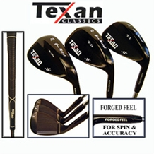 Texan Classics Gun Metal Wedge Set 52-56-60
