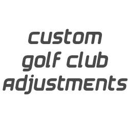 Shorten clubs on your order $5 per club