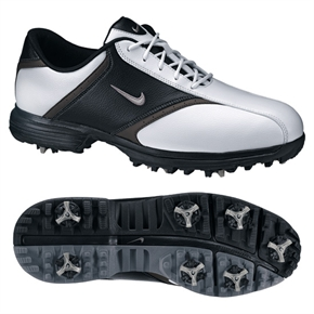 Nike Mens 2011 Heritage WHITE/BLACK Golf Shoes