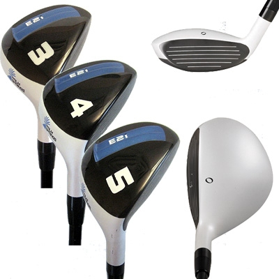 Palm Springs Golf E2i Lady Hybrid Club Set 3-4-5