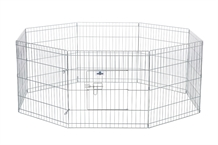 Confidence Pet Metal Dog Playpen - Small