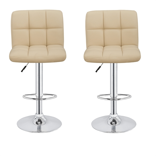 2 X Homegear M2 Contemporary Bar Stool Golf Outlets Of