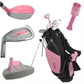 GOLF GIRL Junior Set w/PINK STAND BAG LH