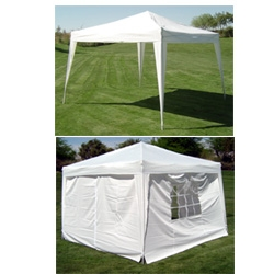 10 x 10 EZ  Pop-Up Gazebo w/4 SIDEWALLS