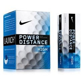 Nike Power Distance HIGH BLUE Golf Balls 1 Dozen