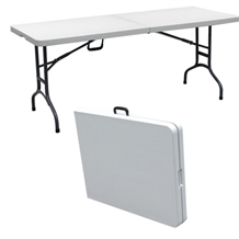OPEN BOX Palm Springs 6' Folding Portable TABLE
