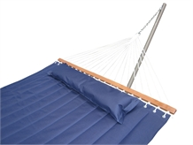 Palm Springs Quilted Fabric Double Hammock