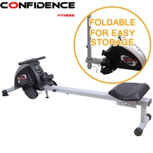 Confidence Fitness PRO Magnetic Rowing Machine