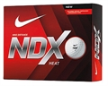 Nike NDX Heat 12 pack of Golf Balls