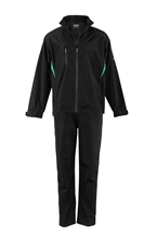 Forgan Golf V2 Mens Waterproof Suit Black