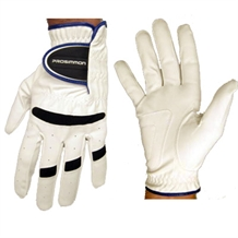 Prosimmon Mens RH All-Weather Golf Gloves x3 WHITE