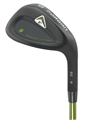 Forgan Tour Spin Black Satin Wedge