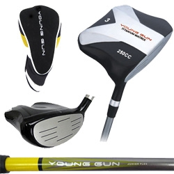 Young Gun 250cc Square Titanium Junior 3 WOOD