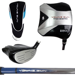 Young Gun 220cc Square Titanium Junior 5 WOOD