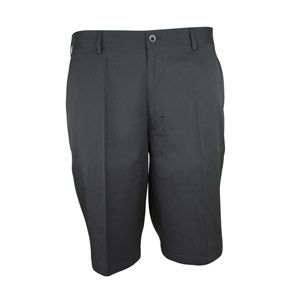 Palm Springs DryFit Flat Front Golf Shorts BLACK