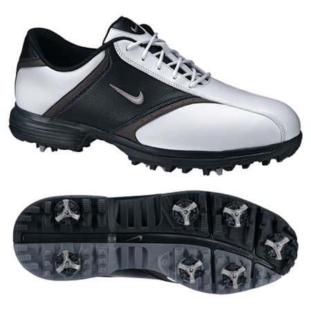 Nike Mens Heritage WHITE/BLACK Golf Shoes