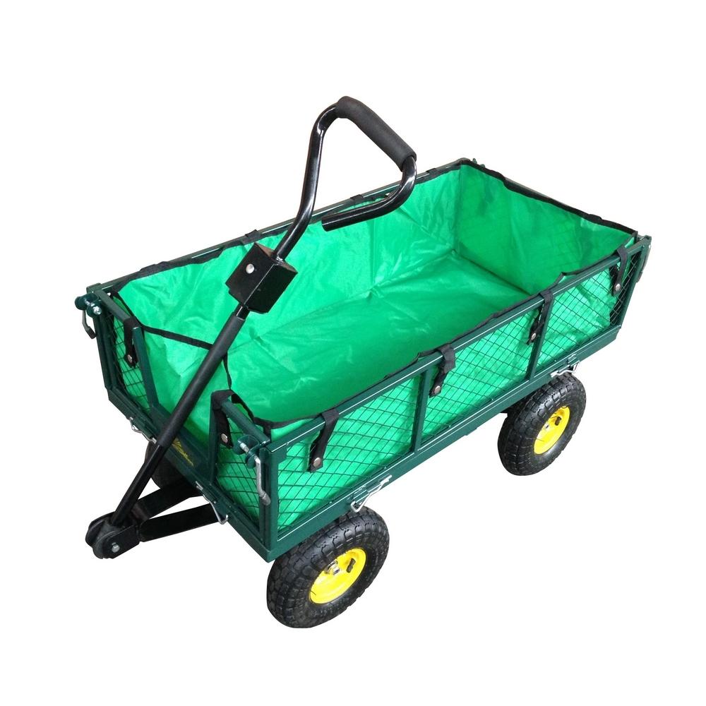 palm springs outdoor heavy duty garden cart utility wagon 600lbs max capacity ebay